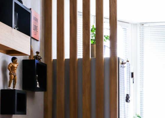 реечные планки в квартире