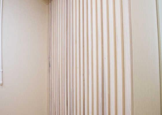 декоративные рейки в квартире